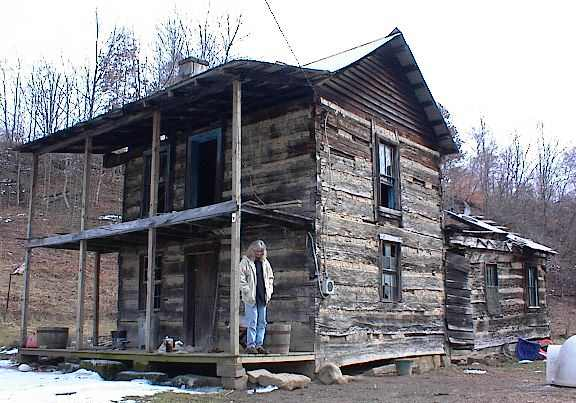 Antique log cabins joy studio design gallery best design for Hand hewn log cabin for sale