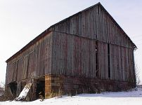 40 x 60 Oak Barn-  with hand hewn timbers