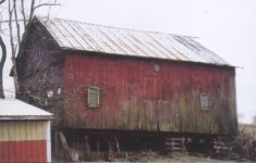 30 x 40 Hand-hewn English Threshing Barn
