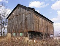Pennsylvania cantilevered Bank Barn