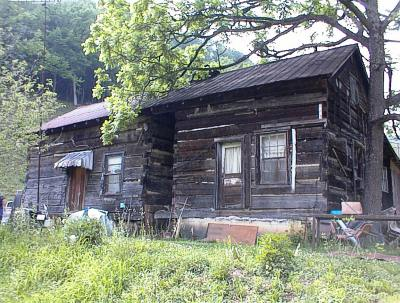Antique hand hewn log cabins from vintage log and lumber for Old style log homes