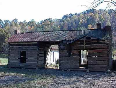 Dog Trot Cabin For Sale