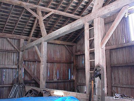 Image result for timber frame barn  hand hewn